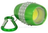 Het LEIDENE van de MAÏSKOLF Compacte Flitslicht van Bling Keychain