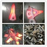 Adaptador de los dientes del compartimiento del excavador de KOMATSU para la maquinaria de construcción y el equipo minero