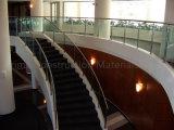 층계와 테라스를 위한 스테인리스 Baluster를 가진 상업적인 유리제 방책 디자인
