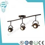 Weißes u. schwarzes LED-unten Gefäß-Punkt-Beleuchtung-Spur-Licht