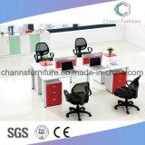 Sitio de trabajo moderno del escritorio del ordenador del vector de la oficina de los muebles