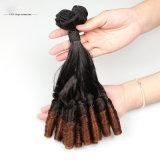 卸売価格の人間の毛髪の拡張100%ブラジル人のバージンの毛