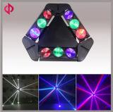 luz principal móvil de la araña LED de 9*10W RGBW 4in1