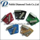 Herramientas de pulido de pulido mojadas del suelo concreto