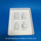 装飾的なまめの包装のための熱い販売の白いプラスチック皿