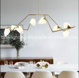Lámpara de cristal del germen de la luz LED de la suspensión del diseño creativo moderno del arte del poeta