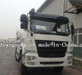 HOWO 6X4 구체 믹서 트럭 Tractortruck