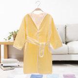 卸し売り綿の長袖のフード付きの子供の浴衣かNightwearまたはパジャマ