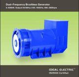 De dubbele Alternators van de Generators van de Output van de Frequentie 50Hz 60Hz 100-1000Hz Brushless