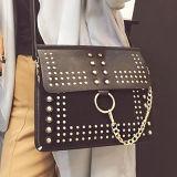 새로운 디자인에 의하여 장식용 목을 박는 패턴 최신유행 어깨에 매는 가방 숙녀 부대 형식 소녀 핸드백 Sy7898