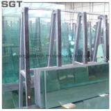 hierro 10m m inferior de 4m m/vidrio ultra blanco/vidrio de flotador claro para el uso del edificio