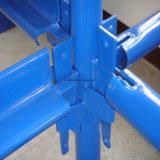 Kwikstageの足場システム縦の標準