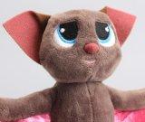 """Mavisのバット柔らかいプラシ天のおもちゃの人形7 """" 18cm"""