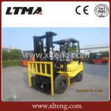 Chinese Ltma de Vorkheftruck van de Benzine van 2.5 Ton met Hydraulische Transmissie