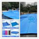 Da piscina azul da bolha de Landy tampa solar para a associação de Inground