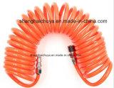 Manguito espiral neumático de la PU para el aire
