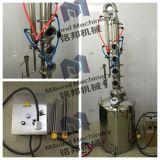 """50L/100L se dirigen el destilador del alcohol/el equipo de la destilación con """" columna del reflujo 4"""