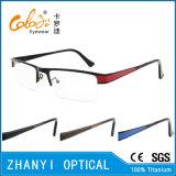 Qualität Halb-Randlose TitanEyewear Brille-Glas-optischer Rahmen (8417)
