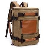 中国の製造業者の人Sy7857のための耐久のキャンバス旅行バックパック袋