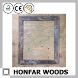"""frame de retrato 5 """" X7 """" de madeira branco para a decoração Desktop"""