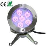 светильник света репроектора 6X3w IP68 СИД подводный