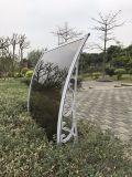 ポリカーボネートシート(Al800)が付いているアルミニウムフレームの日よけの日除けカバー