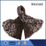 (WV5-3/4) 형식 색깔 15%Wool 85%Visco 남자 스카프
