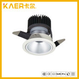 13W arandela redonda de la pared de la MAZORCA LED del anillo interno del aerosol White+Black