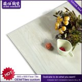 Azulejo de piedra de mármol esmaltado suelo Polished del suelo de la porcelana para la sala de estar Foshan