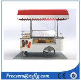 Вагонетки Lolly ручки тележки/льда Popsicles ручки/замораживатели велосипеда витрины мороженного Gelato глубоко - (CE)