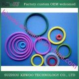 Колцеобразное уплотнение силиконовой резины OEM поставщика фабрики