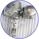 Электрическая клапан-бабочка ексцентрика триппеля вафли CF8