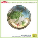 Plaque ronde de l'utilisation 100%Melamine de Restaruant de qualité