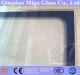 3.2mm 4.0mm hanno temperato il vetro del collettore solare con il blocco per grafici nero dei puntini