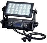 1つのLEDの防水スポットライトまたは表面ライトまたは洪水ライトまたはプロジェクトライトの24PCS 8W RGBW 4