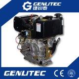 Moteur diesel 11HP à cylindrée unique à 456 cc à air refroidi (DE188F)