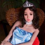 los 165cm abren precio verdadero esquelético de la muñeca del sexo de la muchacha del metal lleno atractivo de la foto