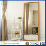 Kleiner Schnitt-Größen-Standplatz-Silber-Großhandelsspiegel für Schlafzimmer