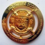 Moneda al por mayor del recuerdo del metal del oro de la promoción