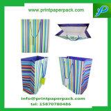 Sacs en papier de luxe faits sur commande de Papier d'emballage - mariage favorise - support - anniversaire et sac de produit de beauté de sac de cadeau
