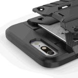 カードスロットとのiPhone7のための熱く多彩な装甲パソコンの箱