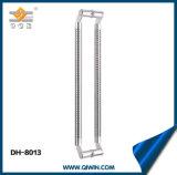Maniglia del metallo per il portello di vetro con raso centrale Dh-8013