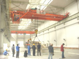 Модель Qd крюк 50 тонн поднимая двойные краны луча