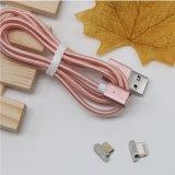 Cabo do USB do presente relativo à promoção micro, USB magnético do cabo de dados do USB do Download do excitador