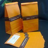 Sacco di carta del Brown del pranzo del sacchetto dell'alimento di memoria di carta durevole perfetta dello spuntino