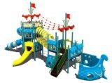 Im Freienspielplatz-Gerät für Kinder wie Lieferung