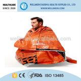 熱反射存続のキャンプのための緊急の寝袋