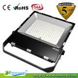 projecteur plat mince ultra mince extérieur de 200W IP65 DEL