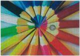 Película de dos vías de la ventana de la visión de la ventana del precio bajo del vinilo auto-adhesivo de encargo de la decoración