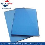 glas van de Vlotter van de Doorwaadbare plaats van 4mm het Blauwe Gekleurde voor het Glas van de Deur